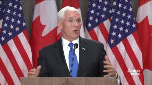Pence says Canada will deal with abortions how they want to, U.S. will do the same