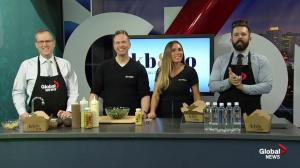Kristina and Geoff from kb & co in Global Kitchen