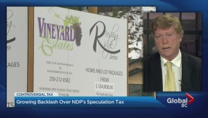 Backlash building over B.C.'s new real estate speculation tax
