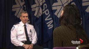New Montreal police chief Martin Prud'homme wants transparency