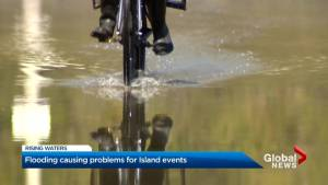 Flooding event causing delays, cancellations of Toronto Islands events