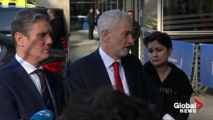 Corbyn urges May to 'change her ways' to avert a no-deal Brexit