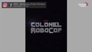 KFC announces new replacement for Colonel Sanders: Robocop
