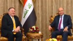 Pompeo makes unannounced visit to Baghdad
