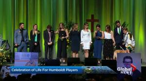 Siblings of Humboldt Broncos crash victims stand together
