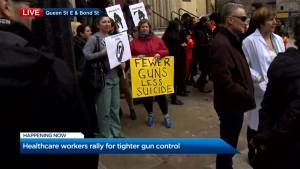 Doctors rally across Canada for stricter gun control