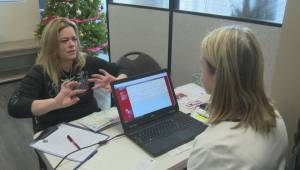Okanagan families needing assistance this Christmas season urged to register this week for the Salvation Army's annual Christmas blessing program (02:08)