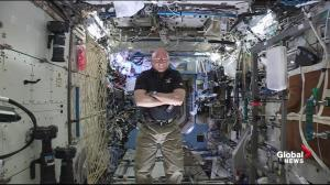 Astronaut Scott Kelly hopes year-long mission is stepping stone to Mars