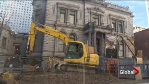 Historic building in Montreal in trouble