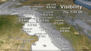 Saskatoon weather outlook: daytime highs drop into December