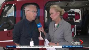 STARS air ambulance lottery cash prize draw live from Edmonton base (1/4)