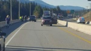 RCMP officer shot during checkstop near Golden