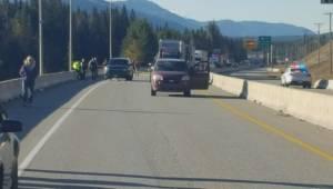 RCMP officer shot during checkstop near Golden (02:50)