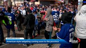 U.S.-style tailgate party fun coming to Ontario (01:45)