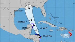 Louisiana prepares for Tropical Storm Nate