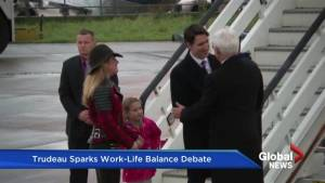 Trudeau sparks work-life balance debate after taking day off