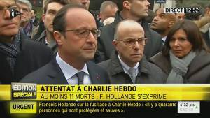 French President Francois Hollande calls Charlie Hebdo shooting a terrorist attack