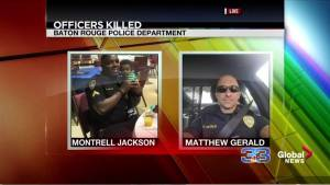 Baton Rouge police shooting: 2 fallen officers identified