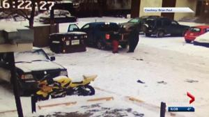Illegal dumping in Edmonton caught on camera