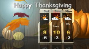 Saskatoon weather outlook: double digit heat Thanksgiving weekend