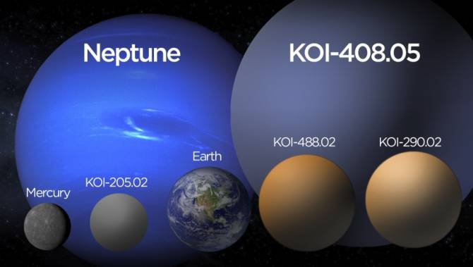 4 New Planets Discovered