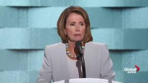 'If you're on the no-fly list, you should be on the no-buy list': Nancy Pelosi during DNC