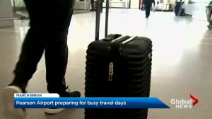 Over 144,000 passengers move through Pearson airport ahead of March Break