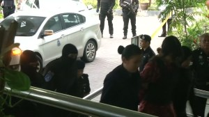 Two women charged for murder of Kim Jong Nam appear in court