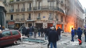Explosion likely caused by gas leak at Paris bakery kills 4, injures at least 47