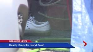 Foreign student dies in strange accident on Granville Island