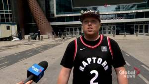 People attending Raptors rally help those in need, following shooting