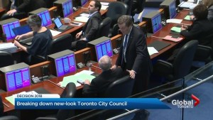 Toronto election 2018: New council elected under 25-ward system, but will governing be simpler?