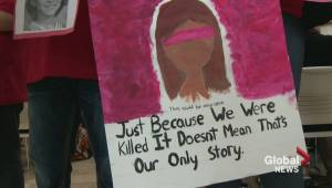 RAW VIDEO: Flash mob gives MMIW a voice