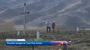 Premier John Horgan to tour B.C. wildfire zone