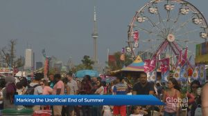 End of CNE means unofficial end of summer in Toronto