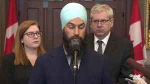 Jagmeet Singh states his case for a public inquiry into SNC-Lavalin
