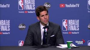 NBA Finals: Warriors' executive gets choked up talking about Kevin Durant injury