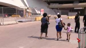 Olympic Stadium opens doors to asylum seekers