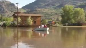 Flooding submerges homes in B.C. interior communities