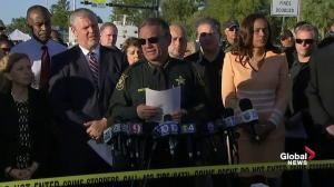 Florida police pay tribute to victims of high school shooting