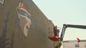 Vandals strike Calgary Beltline mural project