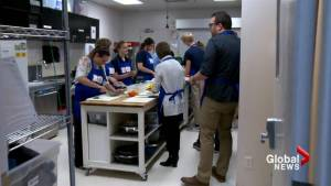Students challenge teachers in Calgary top chef competition: 'A war zone of cooking!'