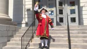 Global News Morning shines the Community Spotlight on Kingston Town Crier Chris Whyman