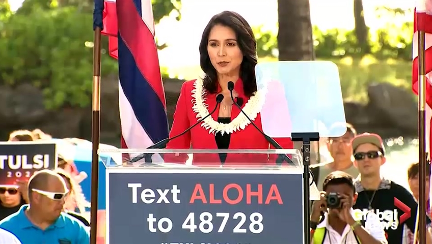 Gabbard plans rally after rocky presidential campaign launch
