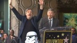 Mark Hamill thanks fans for support as he receives his star on Hollywood Walk of Fame