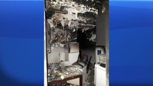 Nearly ten people left homeless after weekend apartment fire in Kingston