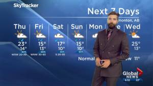 Edmonton Weather Forecast: Aug. 14