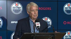 Nicholson says 'something in water' in Edmonton