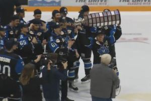 Penticton Vees win 2017 BCHL Fred Page Cup
