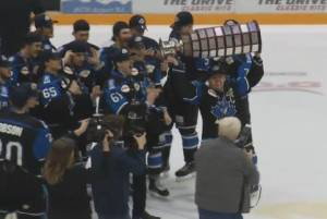 Penticton Vees win 2017 BCHL Fred Page Cup (00:53)